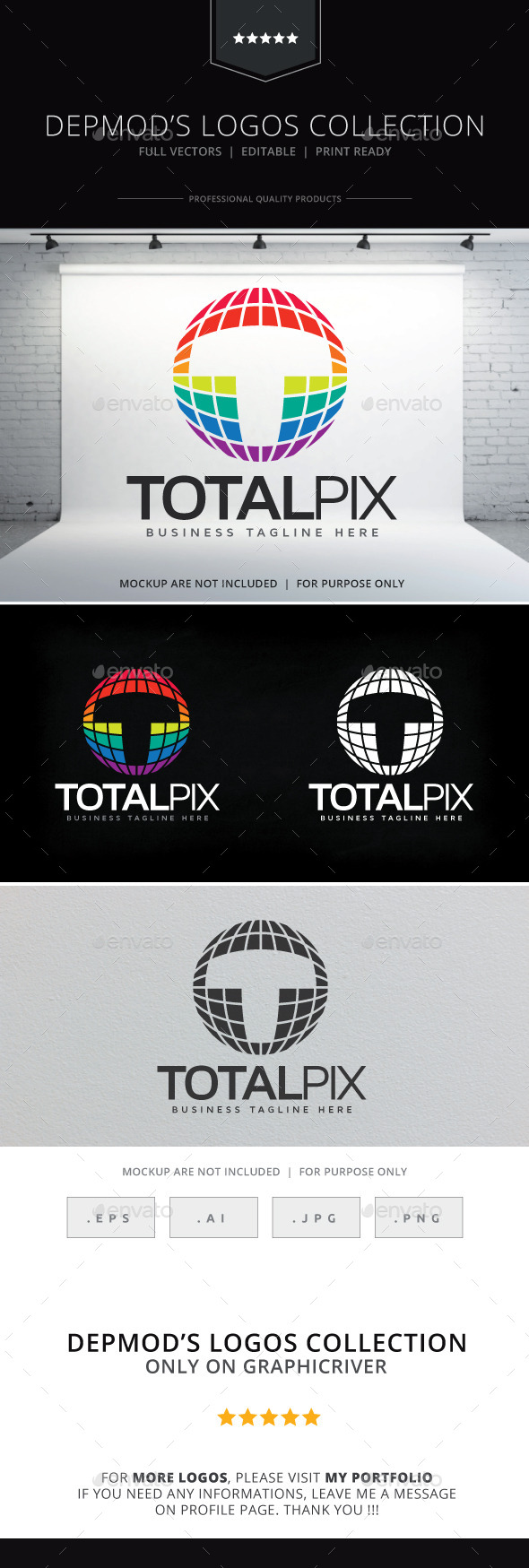 GraphicRiver Total Pix Logo 9271911