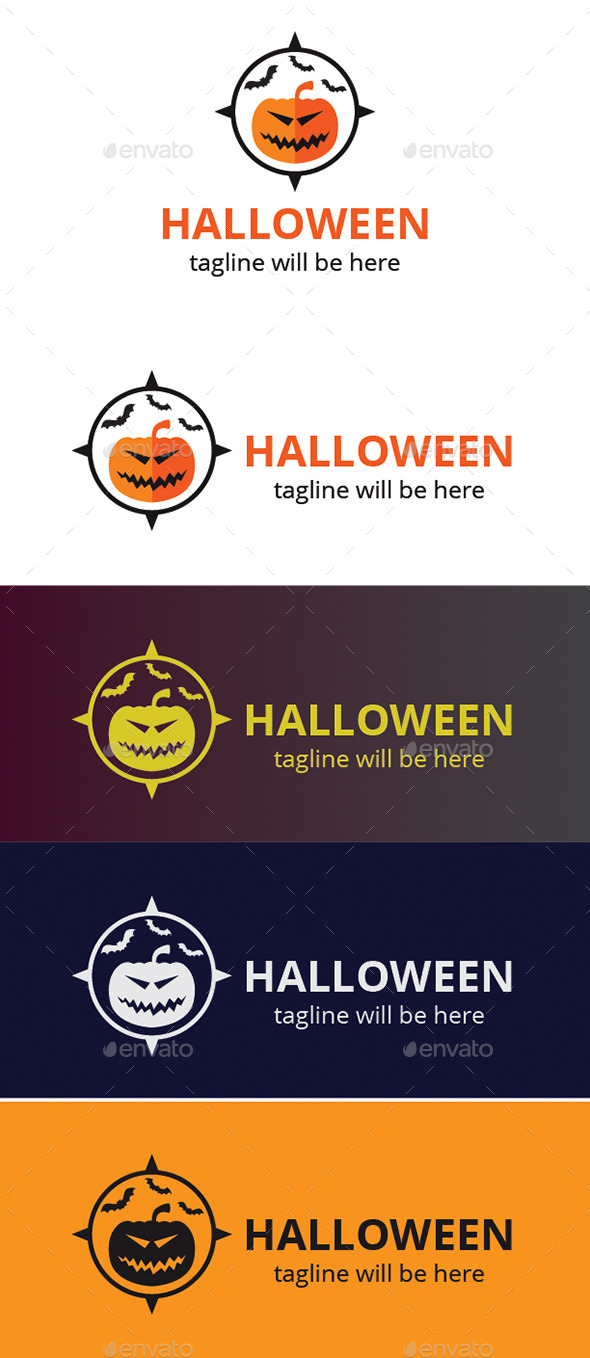 GraphicRiver Halloween Logo 9272042