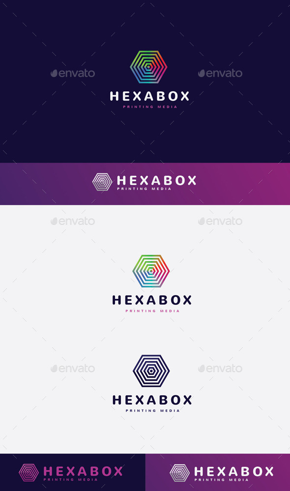 GraphicRiver Hexa Box Logo 9272125