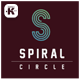 Spiral Cicle Logo - GraphicRiver Item for Sale
