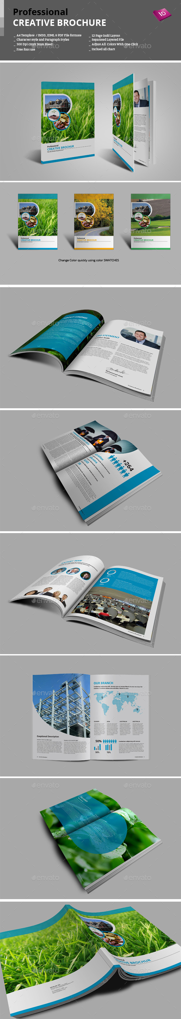 GraphicRiver Creative Brochure 9272397