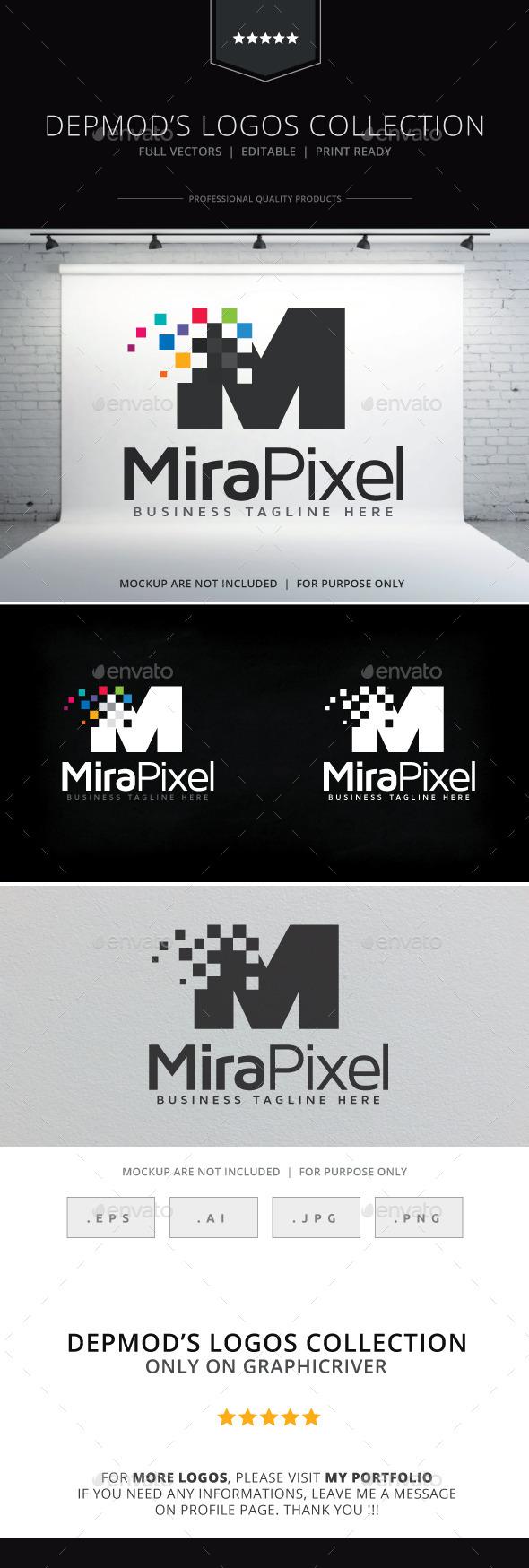 Mira Pixel Logo