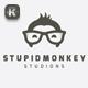 Stupid Monkey Logo - GraphicRiver Item for Sale