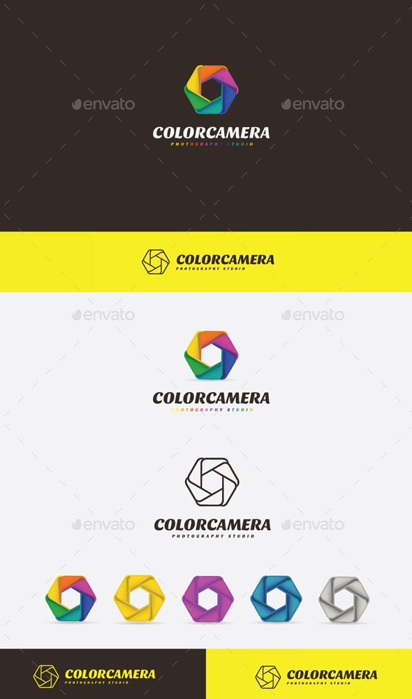 GraphicRiver Color Camera Logo 9272533
