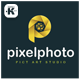 Pixel Photo Logo - GraphicRiver Item for Sale
