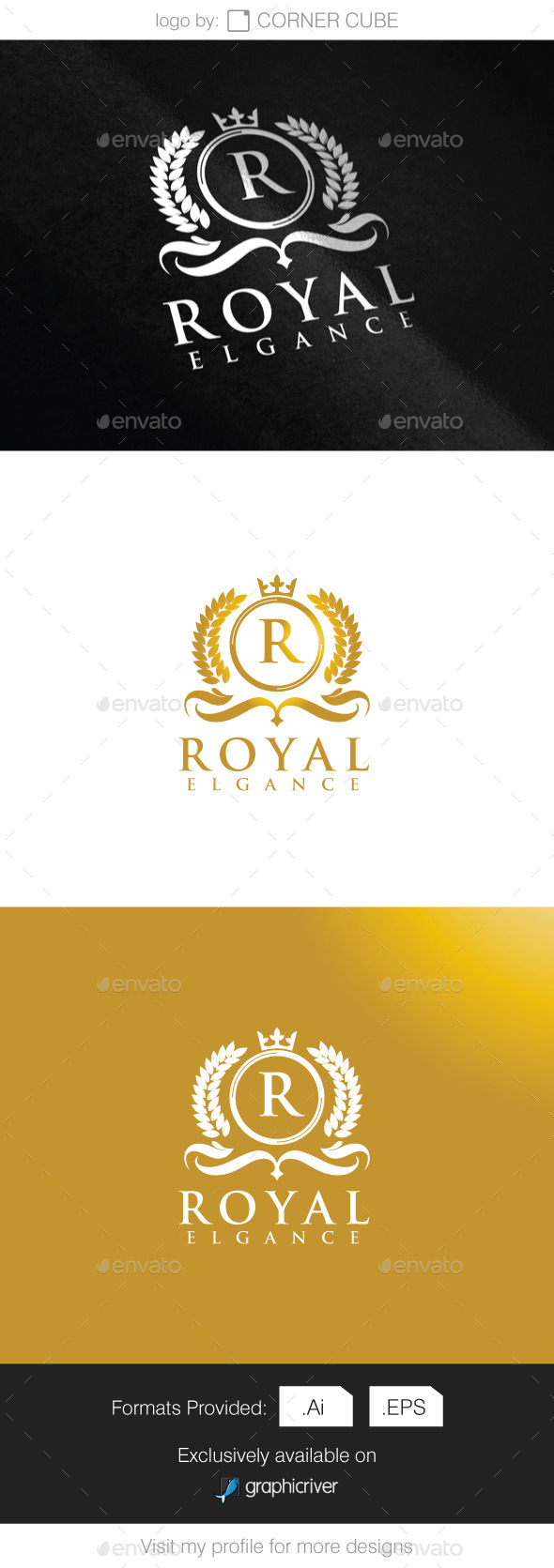 GraphicRiver Royal Elegance Logo 9272730