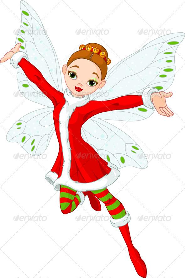 Graphic River Christmas fairy Vectors -  Conceptual  Seasons/Holidays  Christmas 946977
