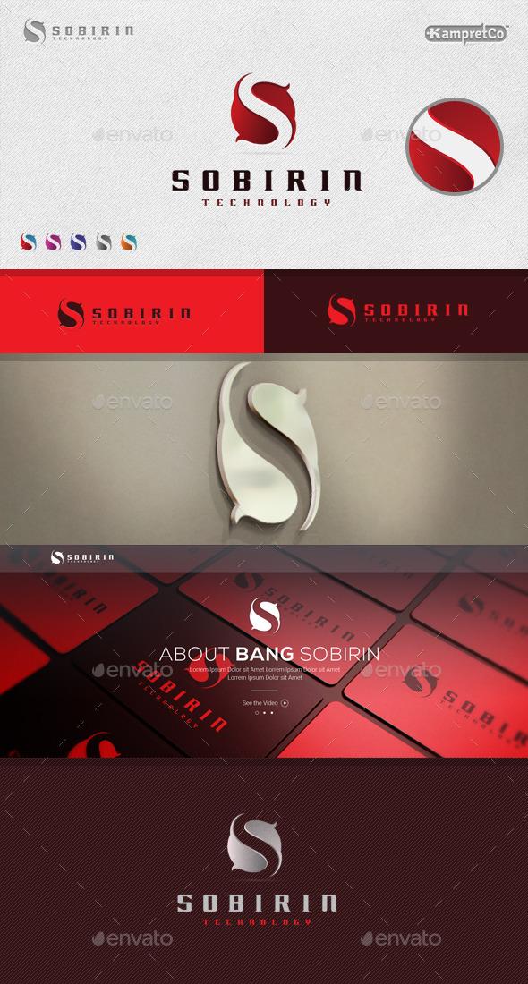 GraphicRiver S Letter Logo 9201047
