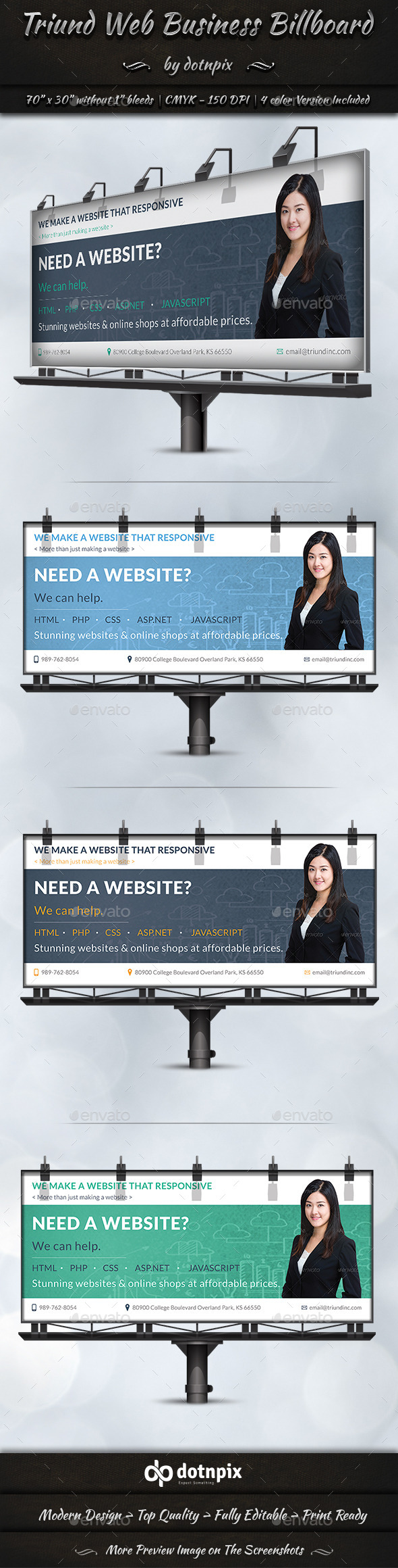 GraphicRiver Triund Web Business Billboard 9273031