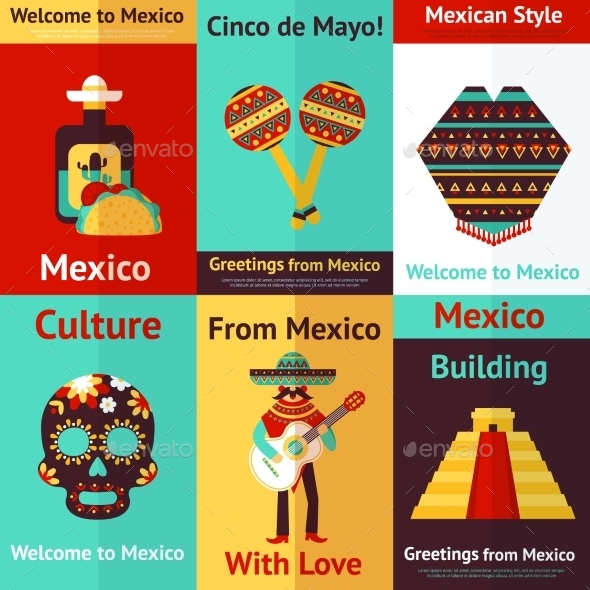 GraphicRiver Mexico Retro Poster 9273054