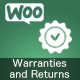 WooCommerce Warranties and Returns