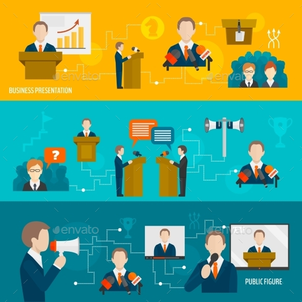 GraphicRiver Public Speaking Banner Set 9273539