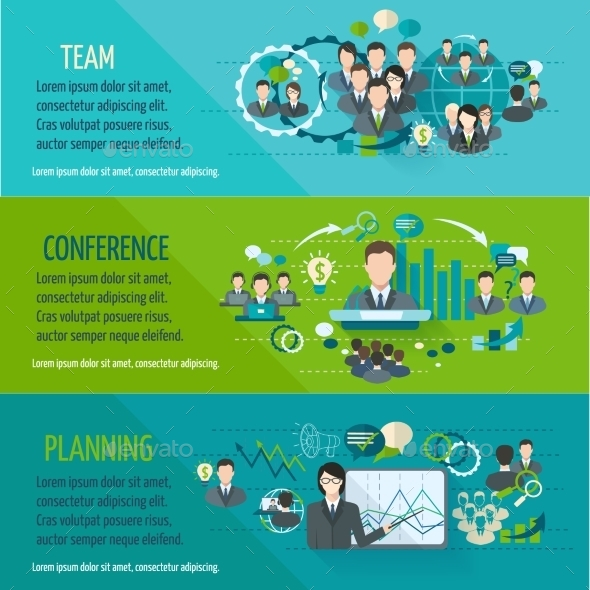 GraphicRiver Meeting Banner Set 9273567