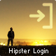 Hipster Login - Fullscreen WordPress Login Page