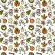 Christmas Seamless Pattern Color - GraphicRiver Item for Sale