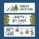 Christmas Horizontal Banners - GraphicRiver Item for Sale