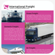 A4 International Freight Flyer - GraphicRiver Item for Sale