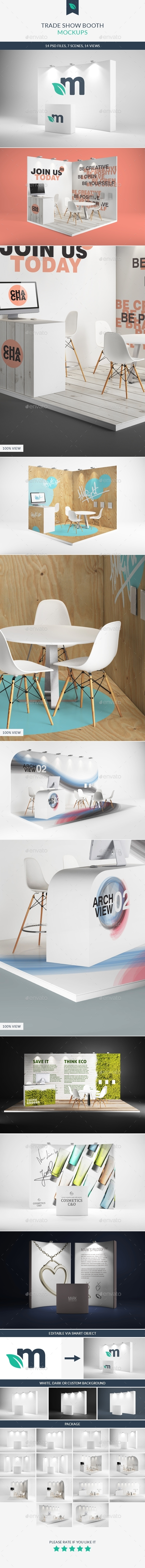 GraphicRiver Trade Show Booth Mockups 9273909
