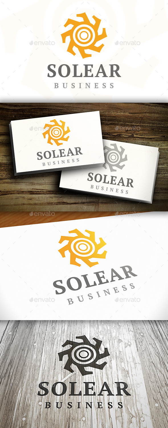 GraphicRiver Sun Abstract Logo 9274300