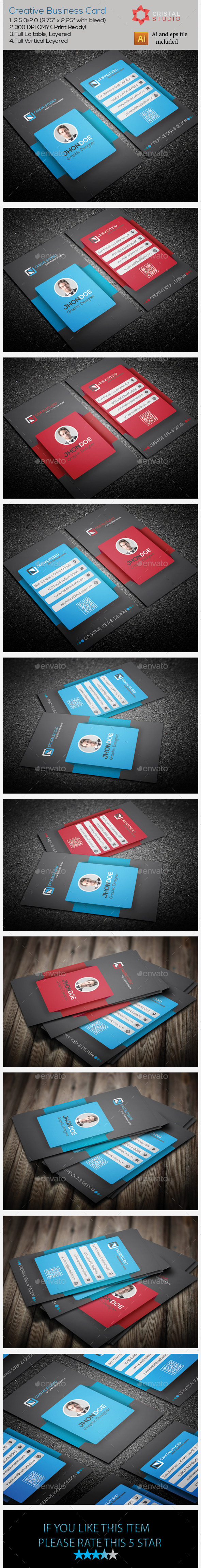 GraphicRiver Creative Business Card 9221253