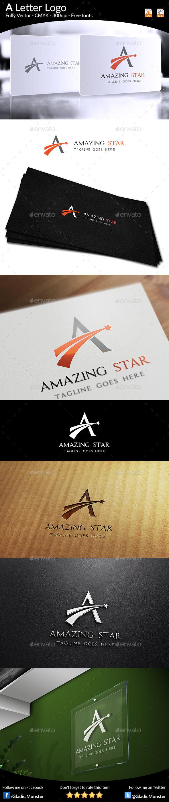 GraphicRiver A Letter Logo 9274505