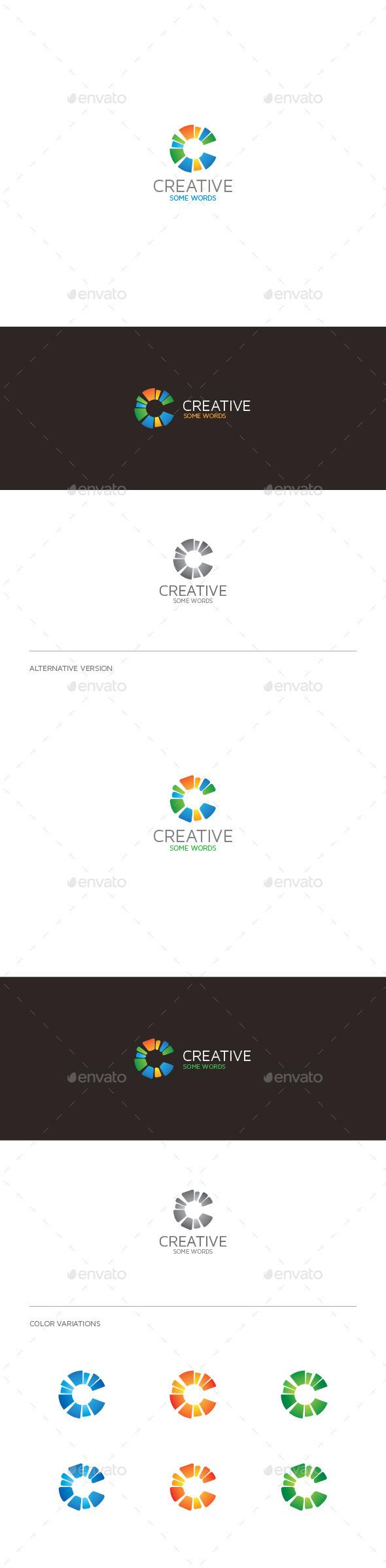 GraphicRiver Creative C Letter Logo 9274673