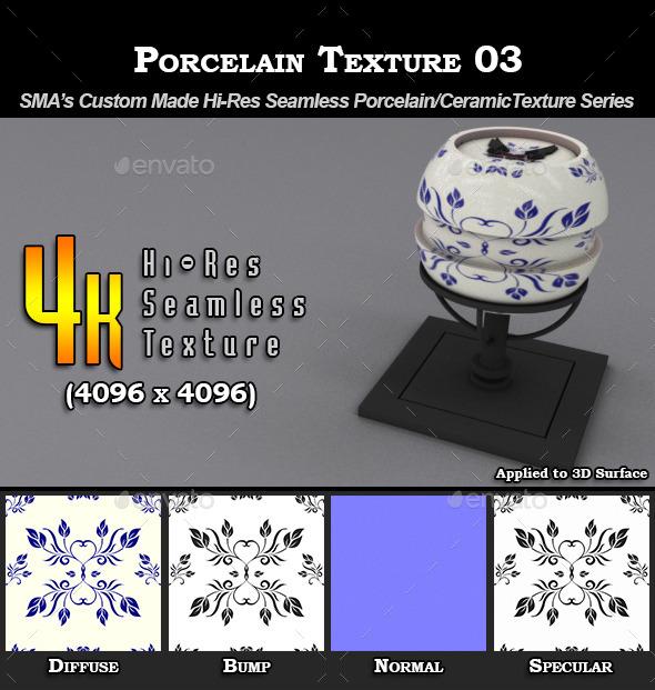 3DOcean Hi-Res Porcelain Texture 03 9274705