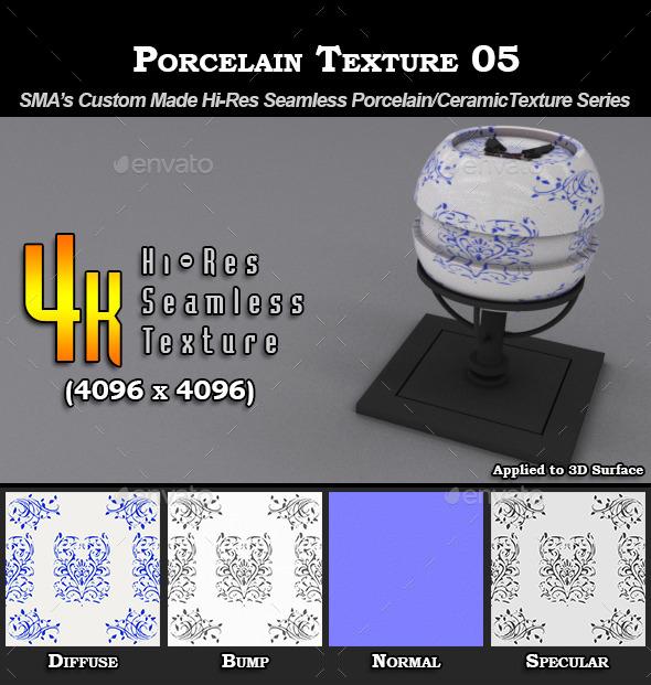 3DOcean Hi-Res Porcelain Texture 05 9274727