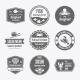 Seafood Label Set - GraphicRiver Item for Sale