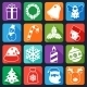 Christmas Icons Set Flat - GraphicRiver Item for Sale