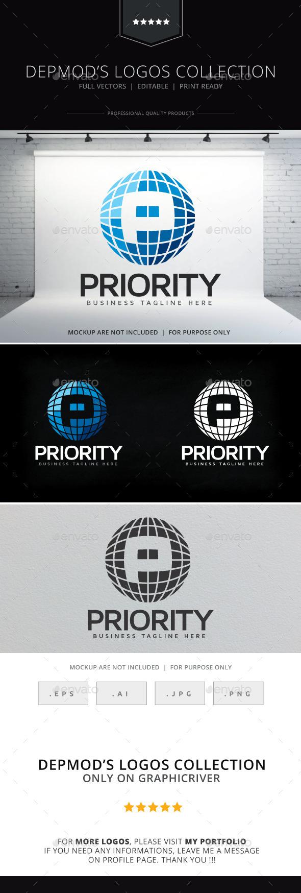 GraphicRiver Priority Logo 9275117