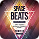 Space Beats Flyer - GraphicRiver Item for Sale