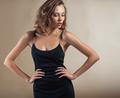 Beautiful model portrait in studio - PhotoDune Item for Sale