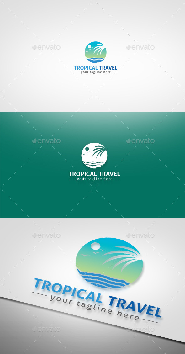 GraphicRiver Tropical Travel 9275473