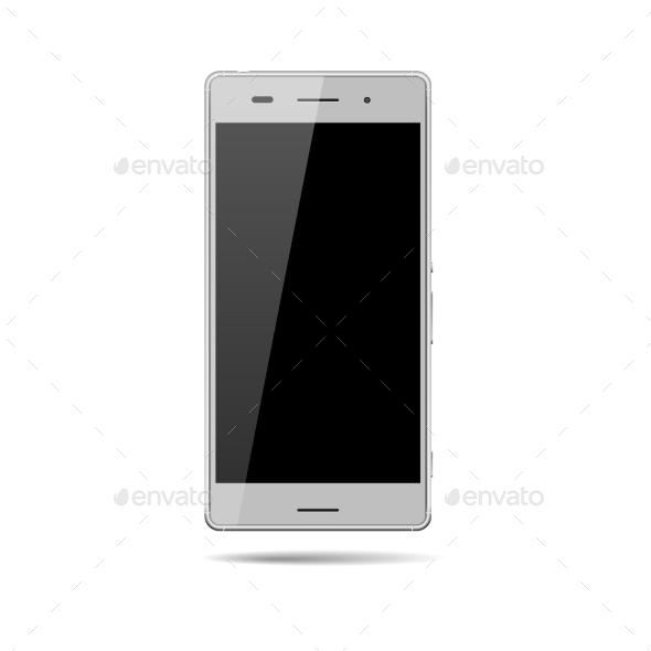 GraphicRiver Vector Smartphone Mockup 9275480