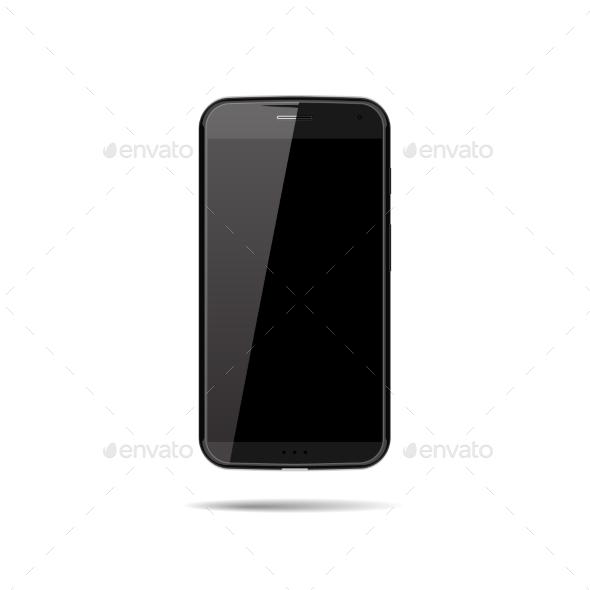 GraphicRiver Vector Smartphone Mockup 9275483