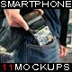 11 Phone Mock Ups - GraphicRiver Item for Sale