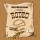 Rodeo Retro Poster - GraphicRiver Item for Sale