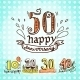Anniversary Signs Set - GraphicRiver Item for Sale