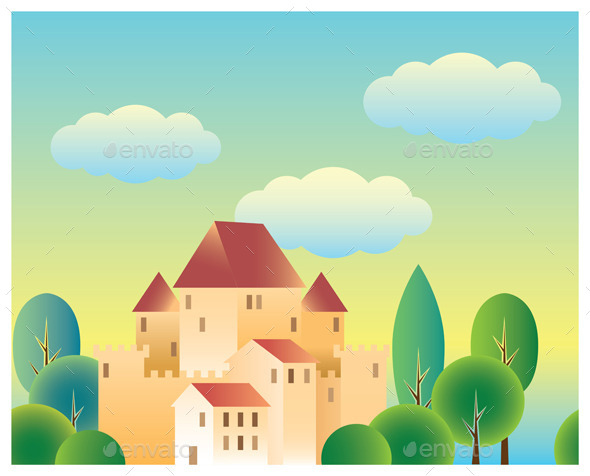 GraphicRiver Fairytale Castle 9276074