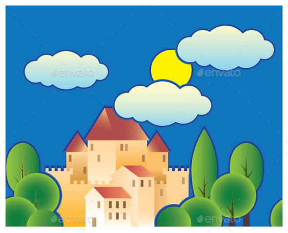 GraphicRiver Fairy Tale Castle 9276083