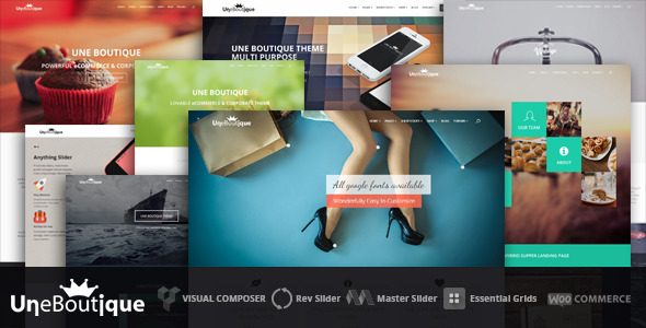 Une Boutique Ultimate eCommerce & Corporate Theme