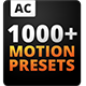 The Most Handy Presets For Animation Composer - VideoHive Item for Sale