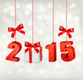 2015 New Years background with gift - PhotoDune Item for Sale