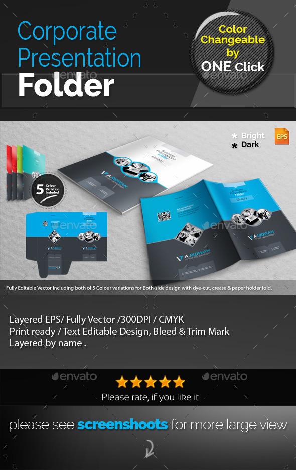 GraphicRiver Corporate Presentation Folder 9276380