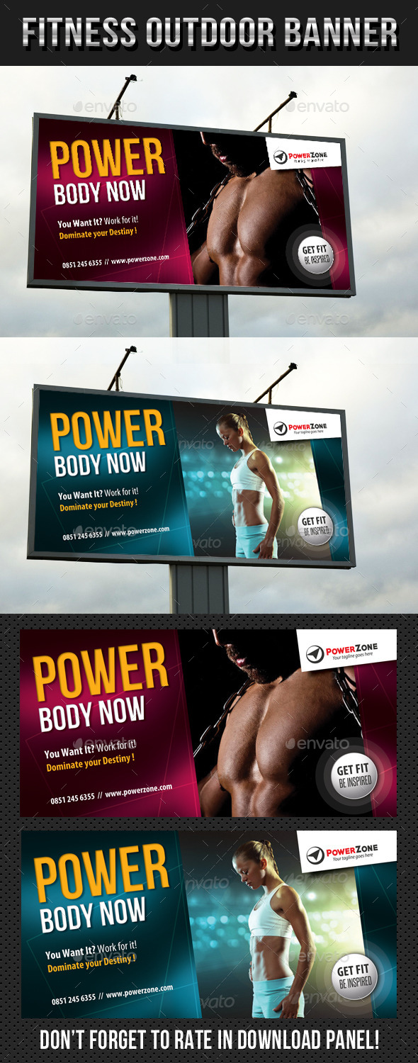 GraphicRiver Fitness Outdoor Banner 13 9276402