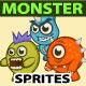 Monster Sprite Sheets - GraphicRiver Item for Sale