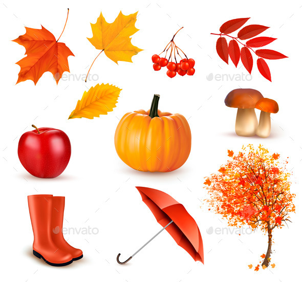 GraphicRiver Autumn Themed Elements 9276558