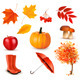 Autumn Themed Elements - GraphicRiver Item for Sale