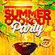 Summer Cookout Party Flyer PSD - GraphicRiver Item for Sale